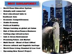 Study in Singapore - BroadMind Consultant