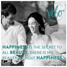 Happiness is the secret to all beauty. There is no beauty without happiness. Can Money Buy Happiness, Science Of Happiness, The Secret, First Love, Happy, Wedding, Beauty, Mariage, First Crush