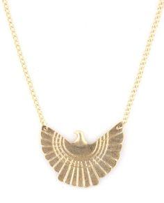 Firebird Gold Necklace from LuLu's