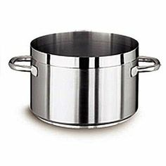 """Vollrath (3208) - 32 3/4 Qt Centurion Sauce Pot by food service warehouse. $437.59. Ship Weight: 21.8 lbs.. Capacity: 32.75 qts.. Cover Included: No. Cookware Type: Sauce Pot. Diameter: 15.75"""". This sauce pot is ideal for simmering liquid recipes like soup  beans  stews and for cooking pasta."""