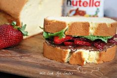 Nutella Recipes: Dessert BLT