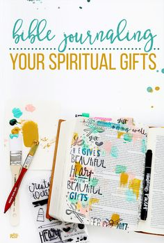 Bible Journaling Your Spiritual Gifts - Illustrated Faith - Illustrated Faith