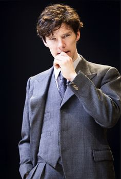 Benedict Cumberbatc in rehearsal for After the Dance in 2010 in London.