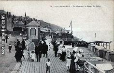 Cartes Postales Photos Les Planches, la Digue, les Bains 14640 VILLERS SUR MER calvados (14)