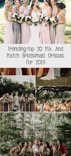 trending mix and match bridesmaid dresses for fall weddings #BlushBridesmaidDresses #BridesmaidDressesMauve #WeddingBridesmaidDresses #ChampagneBridesmaidDresses #LilacBridesmaidDresses