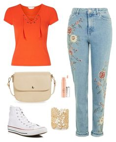 """mom day"" by sheagermann on Polyvore featuring Miss Selfridge, BP., Converse and Sole Society"