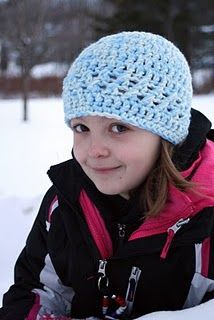 Free crochet hat pattern-