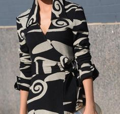 Wrap It Up: DVF's wrap dress is reinvented yet again for fall 2014 in retro swirls.