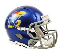 Kansas Jayhawks Mini Helmet