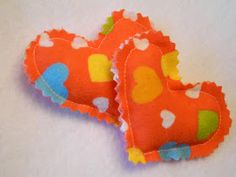 A Song of Sixpence: flannel hand warmers