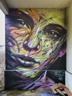 Light Graffiti Canvas Print *The Miley Ltd Ed of 25 Urban Art Street*