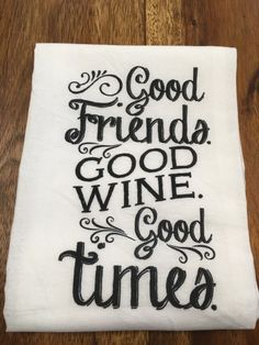 Kitchen/Bar Towel: Good Friends – URBAN MAX LLC