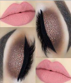 Flirty Blod Red Lips Make-up-Ideen für Prom – Flirty Blod Red Lips Makeup Ideas For Prom – Lip Makeup Art Ideas, Makeup Look Ideas, Red Lip Makeup Ideas For Prom, Red Lip Makeup Tutorial, Eye Makeup # a Bold Lip Makeup, Pretty Eye Makeup, Makeup Eye Looks, Eye Makeup Steps, Glitter Eye Makeup, Smokey Eye Makeup, Eyebrow Makeup, Eyeshadow Makeup, Makeup Art