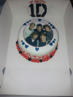 One direction taart