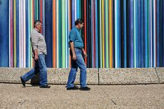 People and stripes I - La Defence - Paris - France by tom.wright, via Flickr