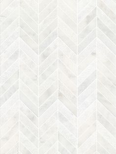 bathroom tiles White modern marble chevron mosaic backsplash tile A Little K Mosaic Bathroom, Mosaic Backsplash, Marble Mosaic, Bathroom Flooring, Mosaic Tiles, Kitchen Backsplash, White Bathroom, Master Bathroom, Rental Bathroom
