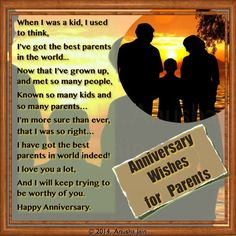 Happy Anniversary Mom & Dad - Poems and Anniversary Quotes for Parents 25th Wedding Anniversary Quotes, Anniversary Quotes For Parents, Anniversary Wishes For Parents, Happy Wedding Anniversary Wishes, Wedding Quotes, Happy Aniversary, Anniversary Ideas, Anniversary Cards, Diy Wedding