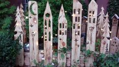 Deko village stele garden house entrance Etsy The Effective Pictures We Offer You About decoration t Garden Entrance, House Entrance, Beautiful Christmas Decorations, Pallets Garden, Garden Trellis, Wooden Pallets, Winter Garden, Beautiful Gardens, Outdoor Gardens