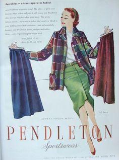 Posts about Ad Campaign on The Vintage Traveler Fifties Fashion, Retro Fashion, Vintage Fashion, Fashion Pics, Classic Fashion, Vintage Advertisements, Vintage Ads, Vintage Style, Vintage Country