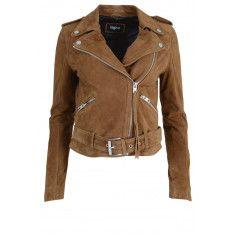 Johanna Leren Jas Cognac Leather Jacket, Jackets, Fashion, Studded Leather Jacket, Down Jackets, Moda, La Mode, Leather Jackets, Fasion