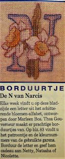 Digitale Bibliotheek: 31mrt17 Embroidery pattern/ Borduurpatroon alfabet...