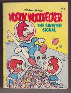 Woody-Woodpecker-The-Sinister-Signal-1969-Big-Little-Book-Whitman-BLB