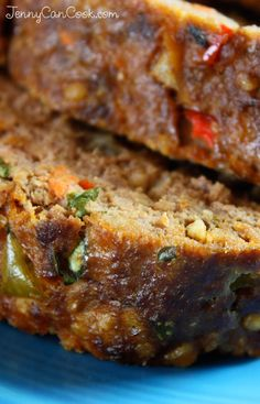 Best Meat Loaf Ever recipe from Jenny Jones (JennyCanCook.com) - Lean and healthy delicious meatloaf from my cookbook - everyone says it's the best they've ever had. #JennyJones #JennyCanCook #meatloaf