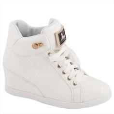 Sneakers de dama albi 8086-6A - Reducere 58% - Zibra