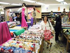 sewing your style — Visiting Fabric Stores in Paris