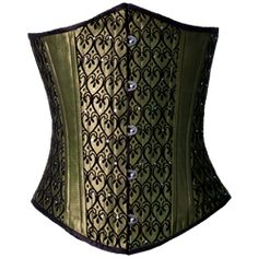 Art Deco Underbust Corset - CS-105 by Medieval Collectibles Reminds me of a mix of paisley and peacock feathers.