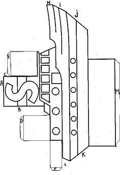 3d knutsel: stoomboot van de sint bouwplaat