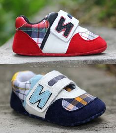 00906d542b8 Toddler Baby Boy s Plaid Crib Shoes Sneakers Size Newborn to 12 Months Child  Fashion