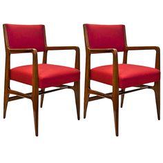 Pair of Armchairs by Gio Ponti | 1stdibs.com