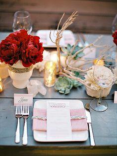 3 ideas fáciles para decorar la mesa de Navidad | Decorar tu casa es facilisimo.com