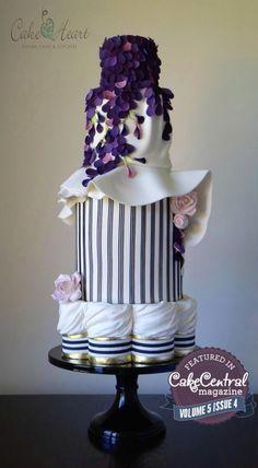 Giambattista Valli ~ Cake Central's Adore Fashion Issue ~ Volume 5 Issue 4 - Cake by Cake Heart