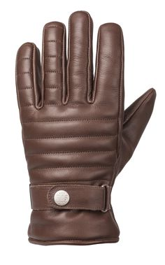 RIDE&SONS Empire Insulated Leather Glove Brown