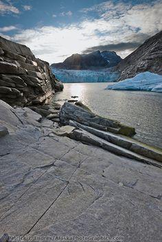 Nellie Juan Glacier, Nellie Juan Lagoon, Prince William Sound, Chugach National Forest, Kenai Peninsula, southcentral, Alaska.