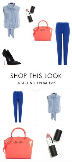 """""""#look913"""" by polly2003-2003 ❤ liked on Polyvore featuring Roland Mouret, Ted Baker, Sigma Beauty and Casadei"""