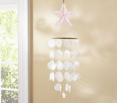 Capize Wind Chime | Pottery Barn Kids