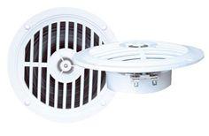5 1/4'' Dual Cone Waterproof Stereo Speaker System