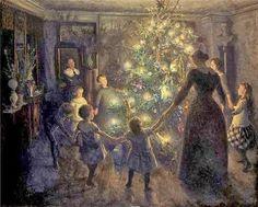 12 πίνακες ζωγραφικής στο… πνεύμα των Χριστουγέννων!