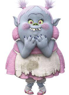 Тихоня (Bridget) — персонаж мультфильма «Тролли» (Trolls)