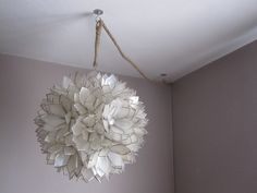 Swag Lamps That Plug In | has a power cord that needed to be swagged across the ceiling down the ...