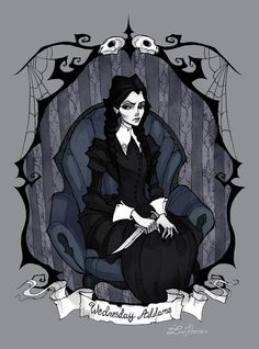 Wednesday Addams by Iren Horrors