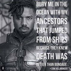 Most memorable quotes from Black Panther, a movie based on film. Find important Black Panther quotes from film. Black Phanter quotes from Marvel and funny quotes. Black Panther Quotes, Black Panther Art, Erik Killmonger, Black History Facts, Dc Memes, Black Pride, The Villain, Black Power, Black Is Beautiful