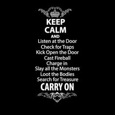 Keep Calm and Listen Shirt www.armorclass10.com