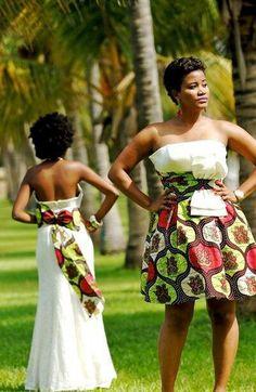 bridal African print