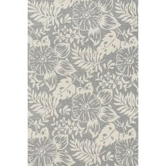 Update your home with the fresh transitional Charlotte rug.  Hand-hooked in China of 100-percent polyester, the Charlotte rug features floral, paisley, and ironwork designs in rich saturated colors.