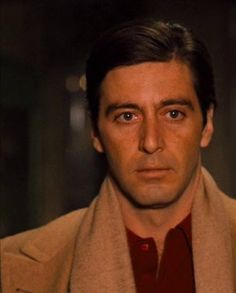 His transformation in the Godfather was incredible...in this scene, he captured a look that was chilling, it was so cold...void of all emotion.