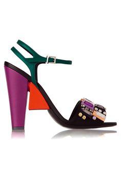Zapatos de fiesta © Fendi